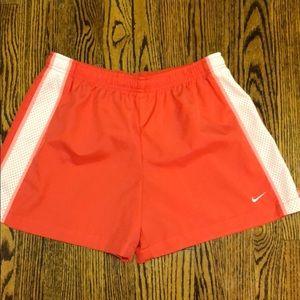 Nike women's athletic shorts. Med.